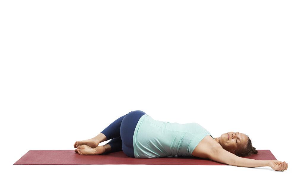 Liggande ryggvridning